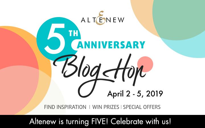 Altenew 5th Anniversary Blog Hop + Giveaway