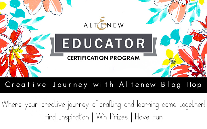 Altenew Educator Blog Hop + Giveaway