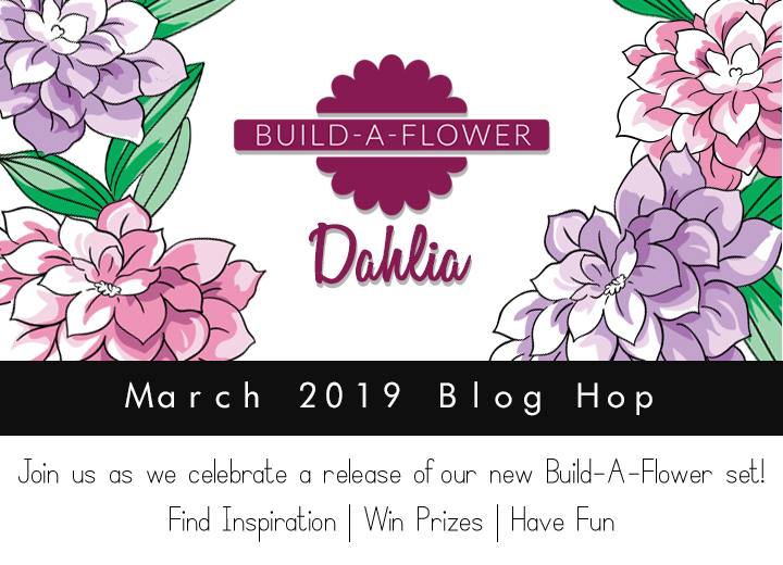 Altenew Build-A-Flower Dahlia Blog Hop + Giveaway