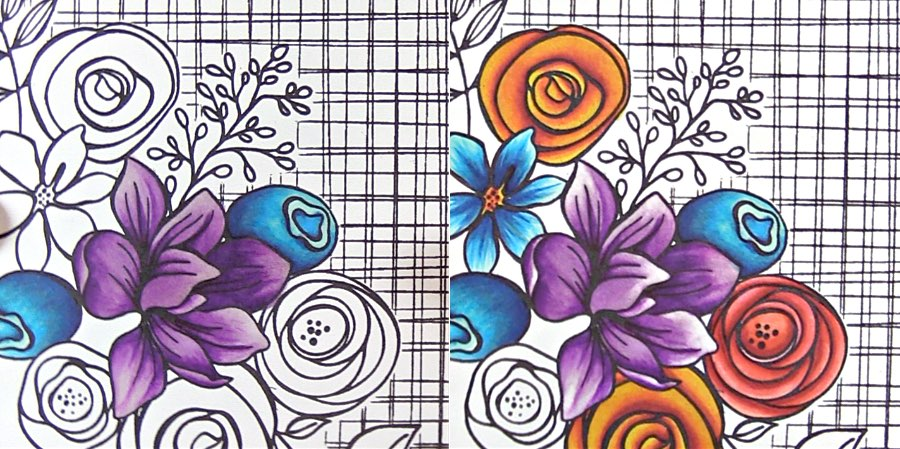 Copic Tip: Fixing a Wall of Color