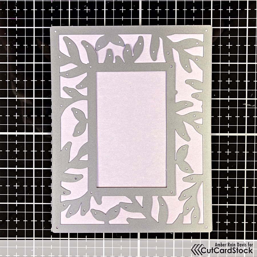 Stardream Metallic Cardstock and Cover Die