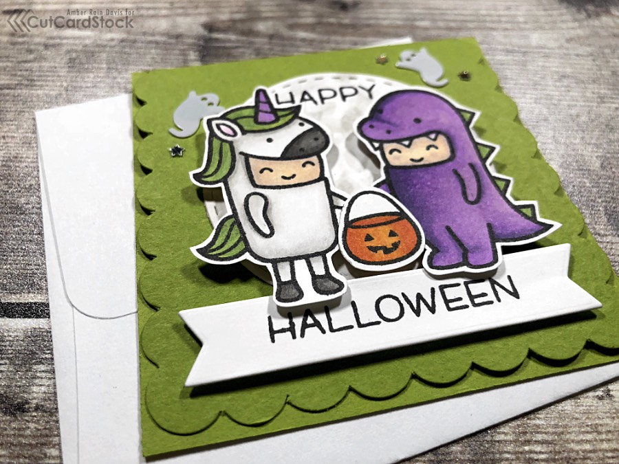 Lawn Fawn Halloween Mini Cards