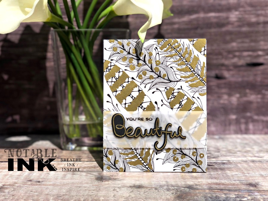Zentangle® for Cardmakers with Altenew Golden Feather