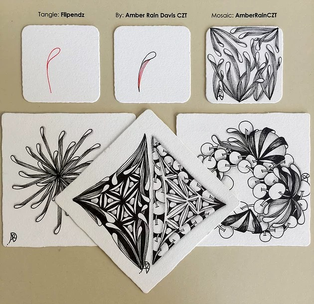 Flipendz Zentangle Step Out