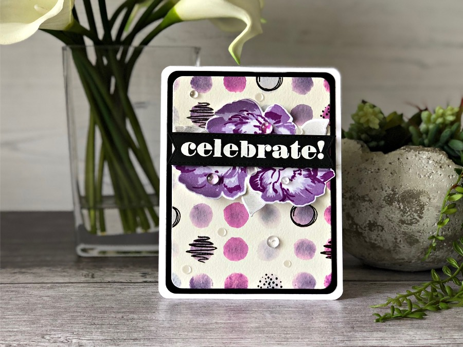 Altenew Watercolor Dots, Strength Blooms, & Party Time!