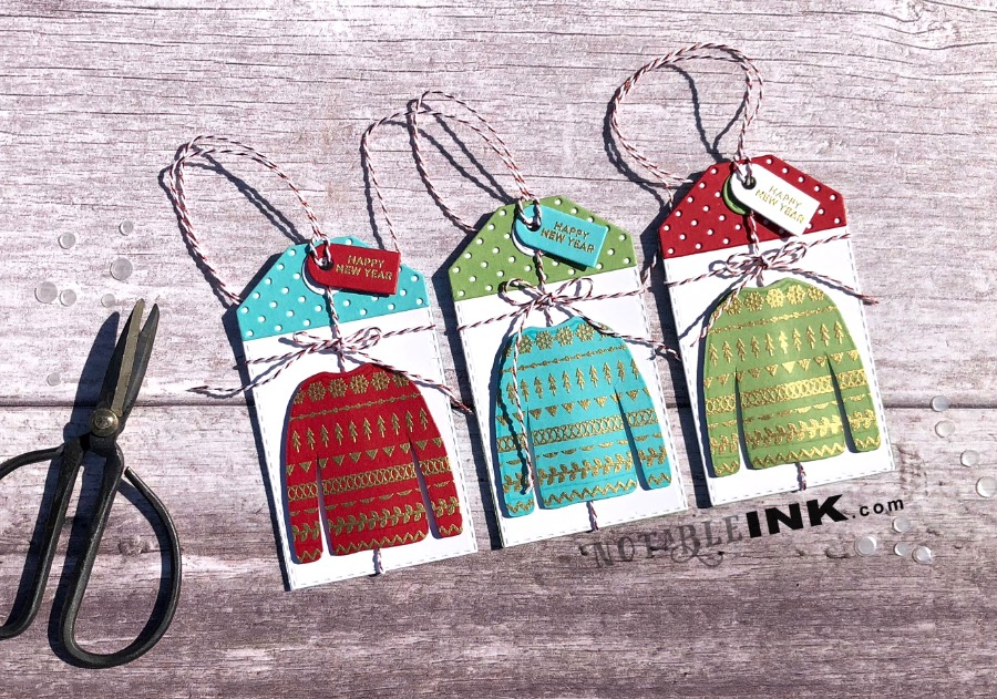 Cozy Sweater Gift Tags