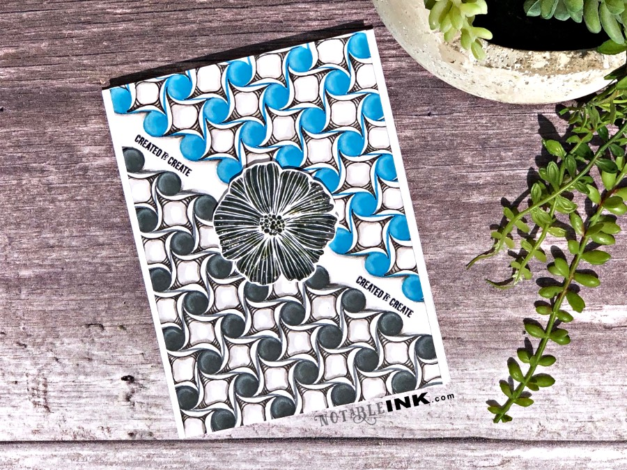 Zentangle® for Cardmakers with a Stencil