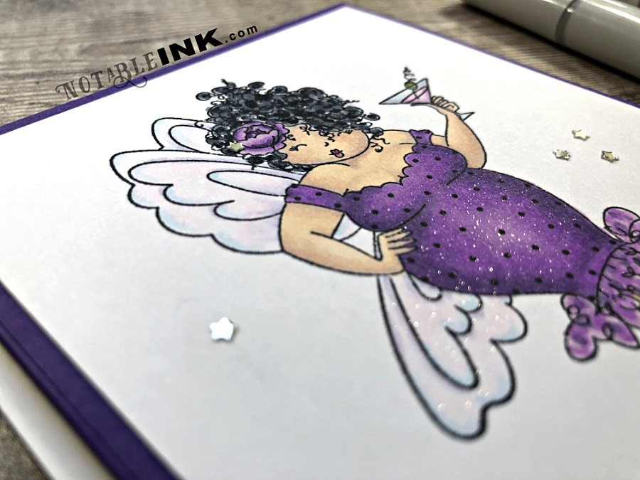 Copic Beginner Tips: Skin & Hair with Stamping Bella Edna Needs a Martini