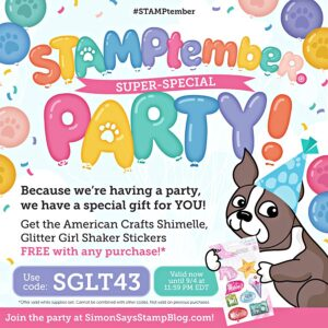 STAMPtember promo code SGLT43