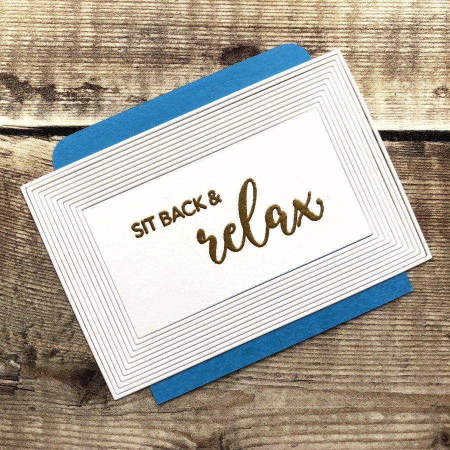 Use a sticky note to keep the fine frames neat and tidy