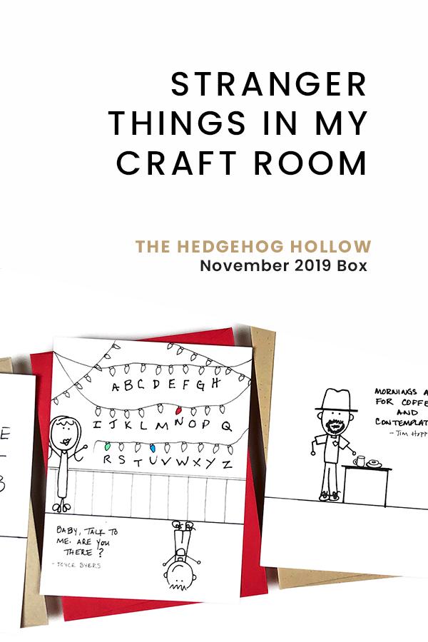 PINTEREST   Stranger Things in My Craft Room